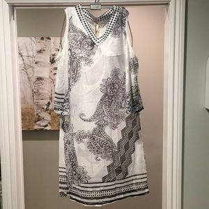 NWT Gorgeous Cold Shoulder Swimsuit Coverup